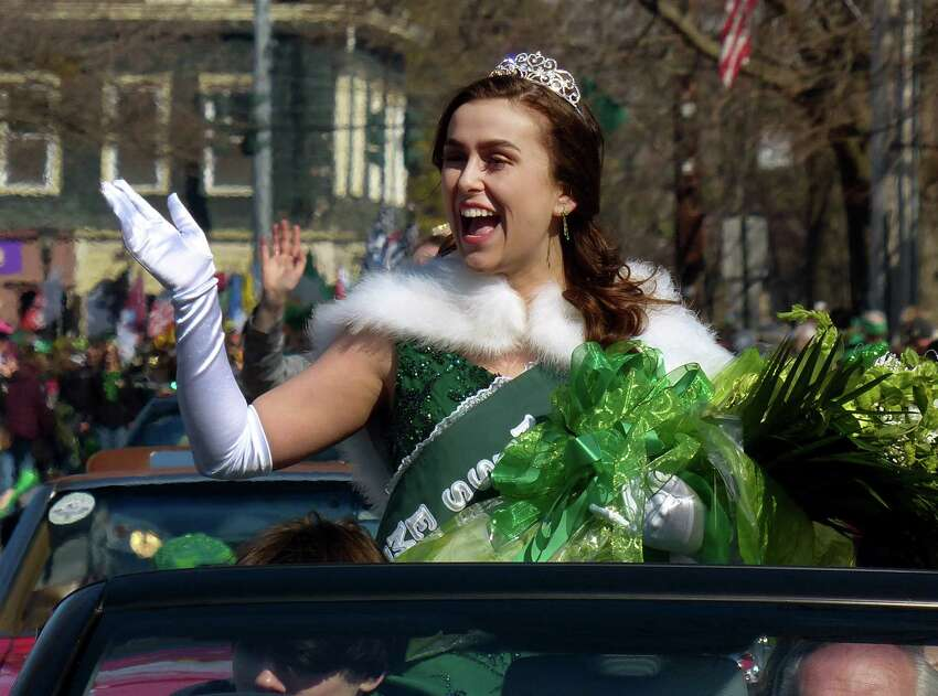 The 29th annual St. Patrick's Day parade along Broad Street in downtown Milford, Conn. on Saturday Mar. 8, 2019.