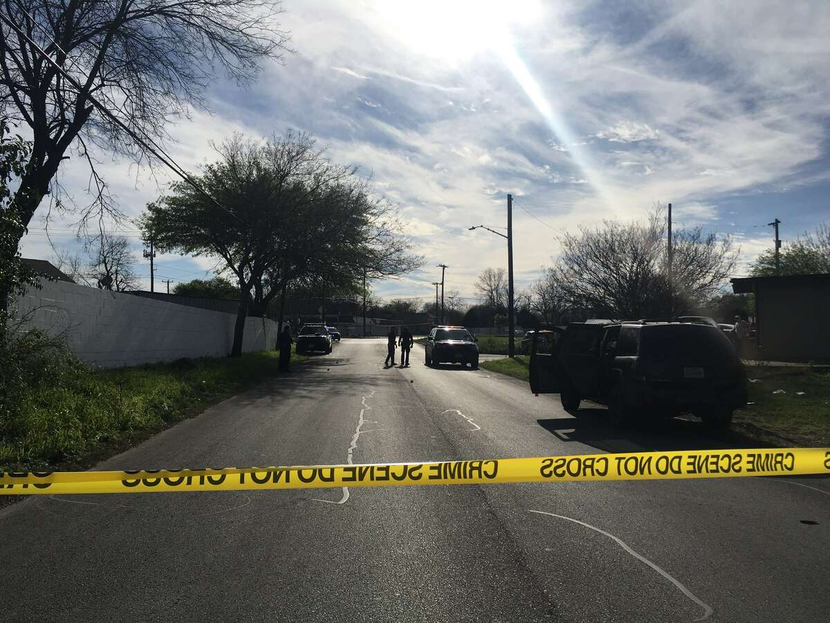A man was shot after being followed by 4 men in a vehicle after leaving store, according to the San Antonio Police Department.