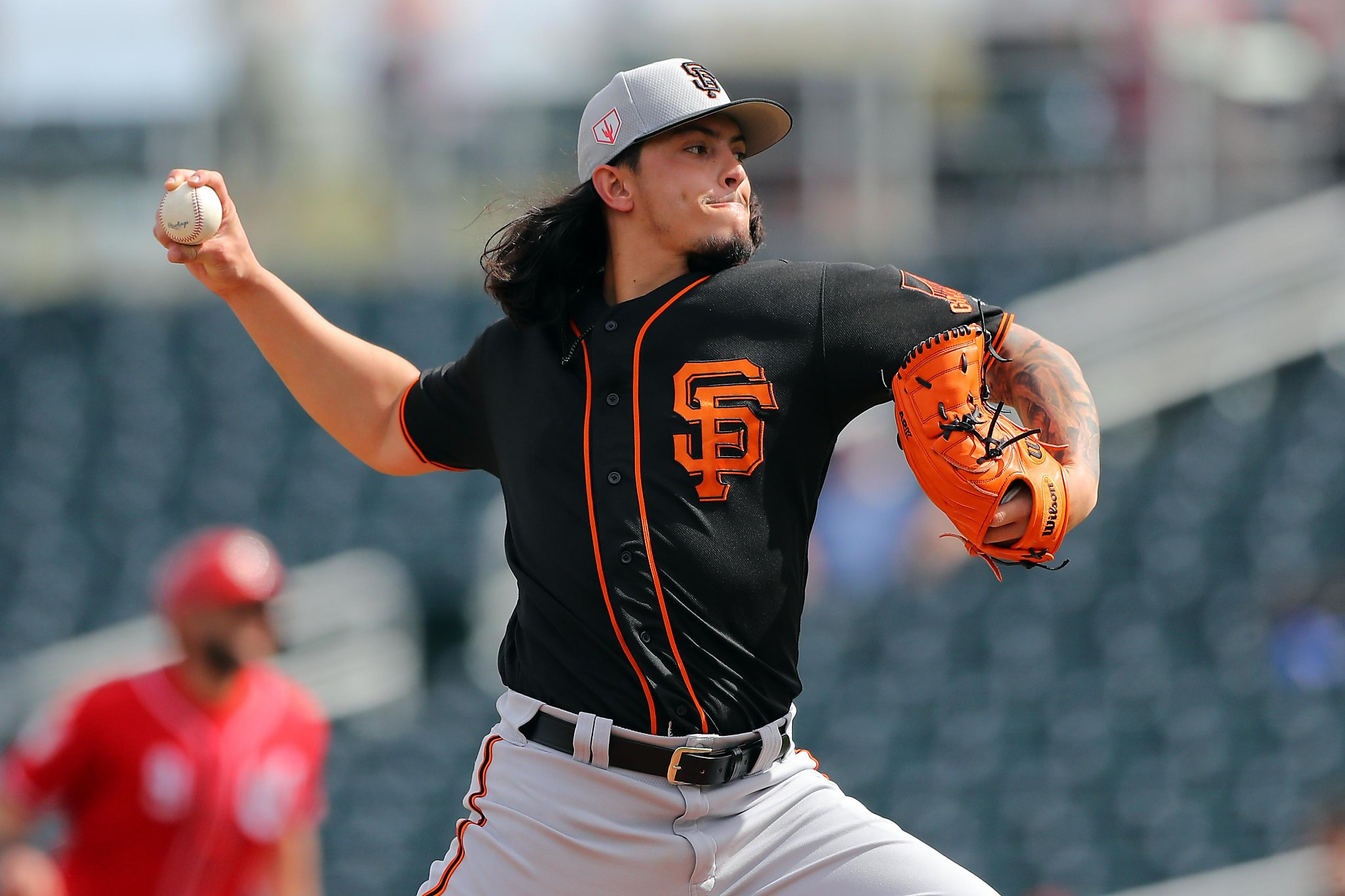 fdaa63dd901 Giants  Bruce Bochy on Dereck Rodriguez   He s part of this rotation ...