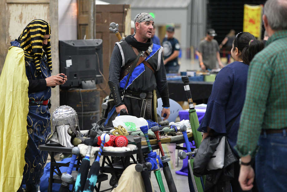 West Texas Celtic Fair at the Horseshoe Pavilion Hours are 10 a.m. to 7 p.m. Saturday and 11 a.m. to 6 p.m. Sunday Tickets are $5-$13 for children or $13-$27 for adults. Photo: James Durbin / Midland Reporter-Telegram / ? 2019 All Rights Reserved
