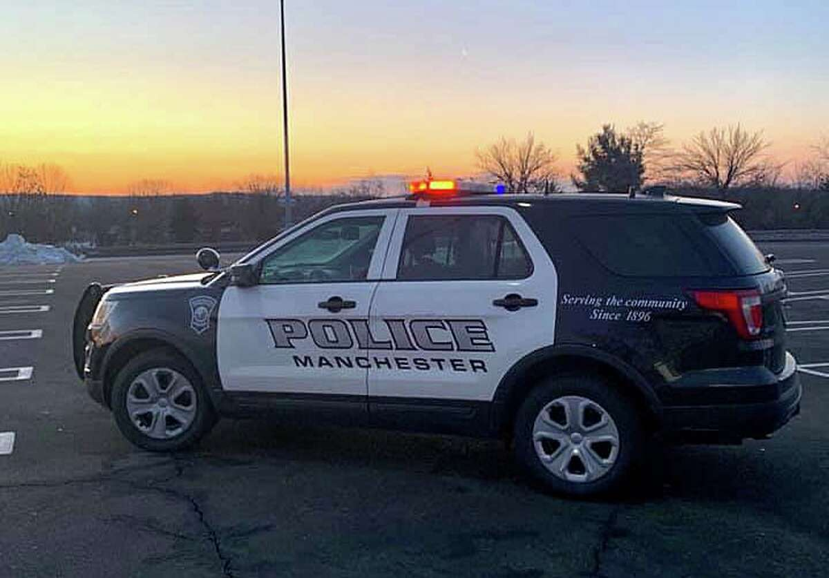 File photo of a Manchester, Conn., police cruiser.