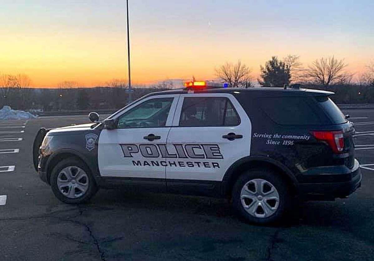 File photo of a Manchester, Conn., police cruiser.