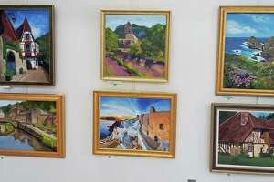 A local artist's work will be on display in Town Hall in Trumbull, Conn., during the month of March 2019.