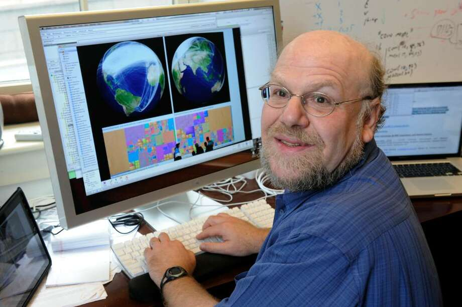 Professor James A. Hendler is working on ways the Web can assemble more useable, reliable information.     (Skip Dickstein/Times Union) Photo: Skip Dickstein