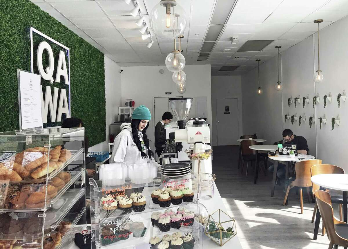 Qawa Coffee at 170 Main St. in Middetown's Metro Square