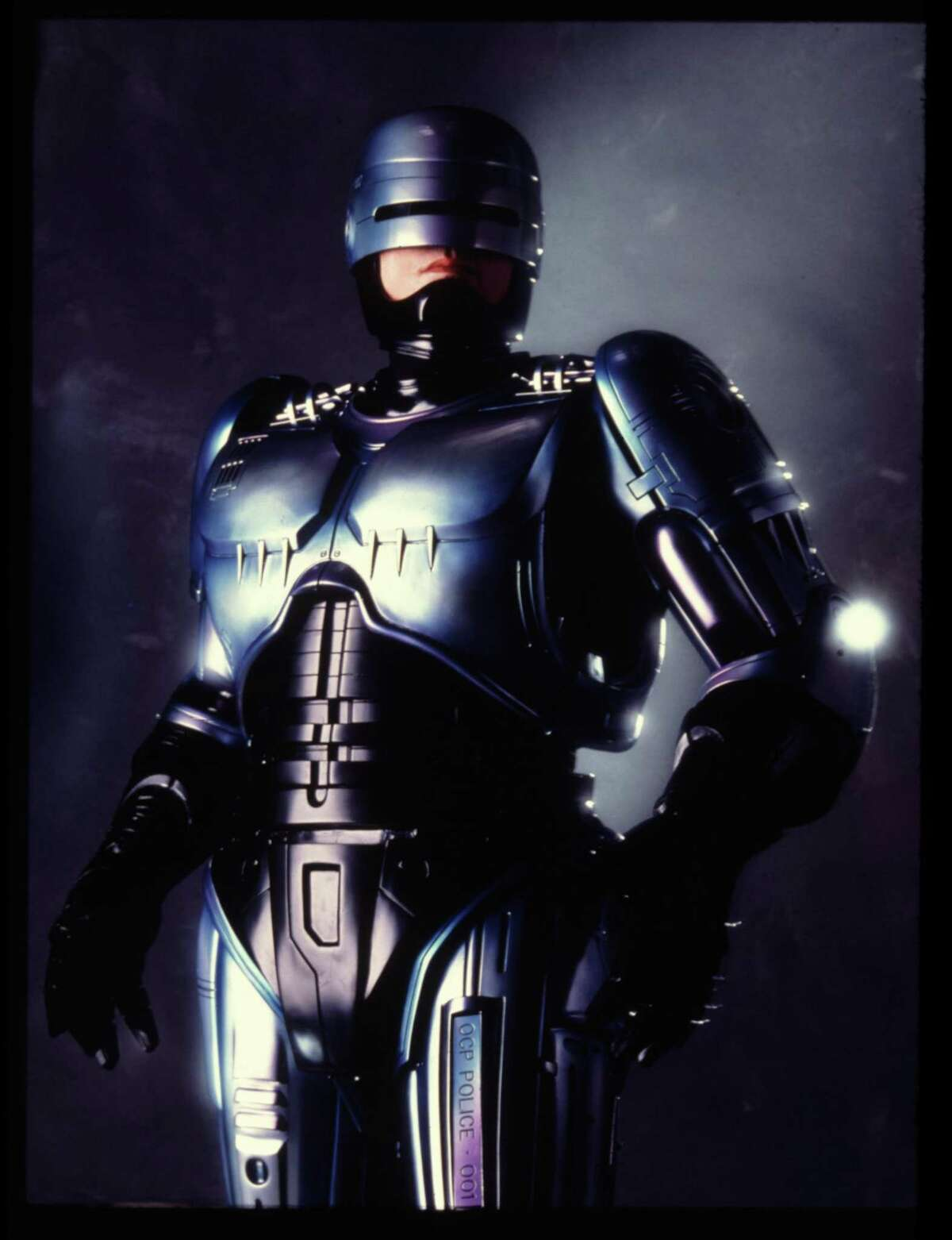 Peter Weller as Robocop. Robocop 2. an Orion Pictures Corp film 1990. photo by: William Hawkes