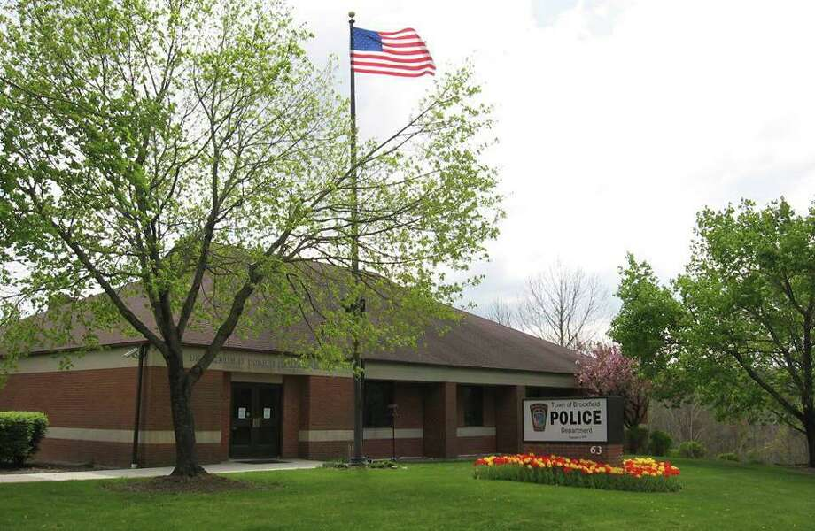 Brookfield Police Department headquarters at63 Silvermine Road. Photo: Brookfield Police Department