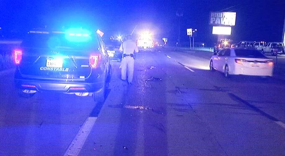 Montgomery County deputy hit by drunk driver Photo: Metro Video Services