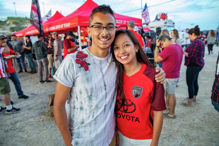 A sellout crowd of 8,058 cheered on the San Antonio FC at their season-opening draw against the Phoenix Rising FC on Saturday, March 9, at Toyota Field. Photo: Joel Pena For MySA.com