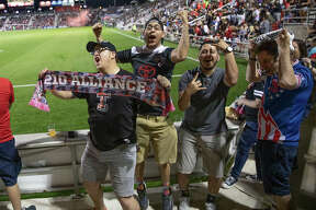 A sellout crowd of 8,058 cheered on the San Antonio FC at their season-opening draw against the Phoenix Rising FC on Saturday, March 9, at Toyota Field.