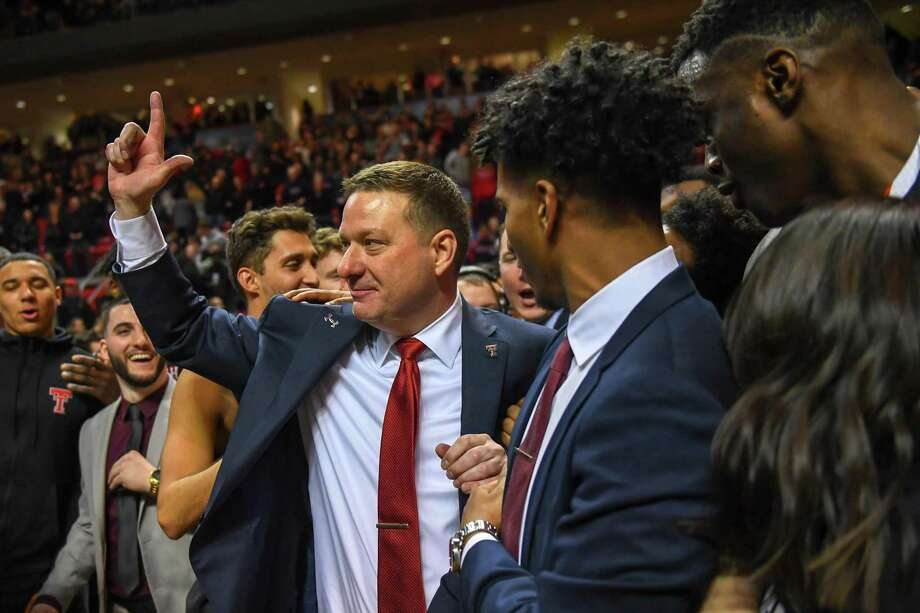 Texas Tech head coach and The Woodlands native Chris Beard was honored by the Big 12 on Sunday. Photo: John Weast, Stringer / Getty Images / 2019 Getty Images
