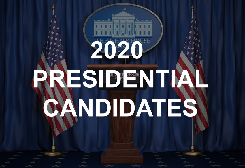 Who are the 2020 Democratic presidential candidates still running and have dropped out?