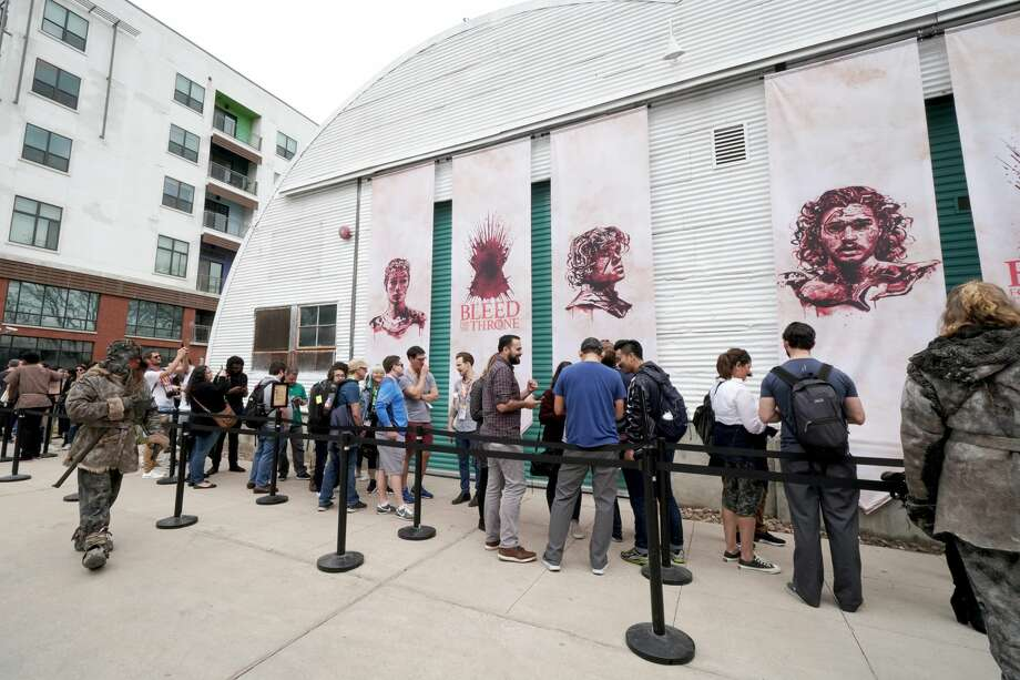 AUSTIN, TX - MARCH 08:  Game of Thrones 'Bleed For The Throne' experience during the 2019 SXSW Conference and Festivals on March 8, 2019 in Austin, Texas.  (Photo by Amy E. Price/Getty Images for SXSW) Photo: Amy E. Price/Getty Images For SXSW