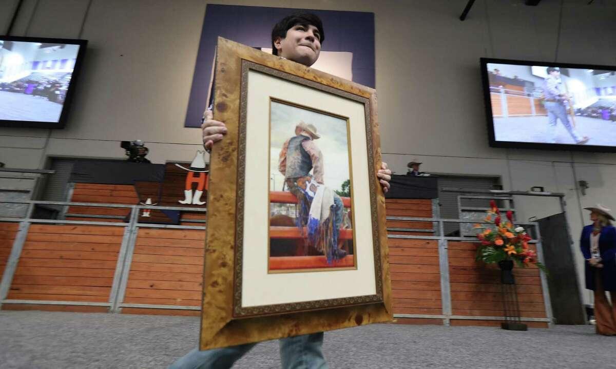 Hector Maldonado, 18, colored drawing,