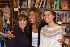 "'Today' show co-anchor Hoda Kotb visited the Wesleyan University RJ Julia bookstore on March 20, 2019 to sign copies of her latest children's book, ""You Are My Happy,"" which was inspired by her own nighttime routine with daughter, Haley Joy. Were you SEEN?"