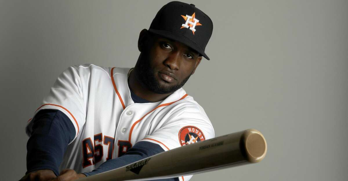 PHOTOS: Top prospects This is a 2019 photo of Yordan Alvarez of the Houston Astros baseball team. This image reflects the 2019 active roster as of Tuesday, Feb. 19, 2019, when this image was taken. (AP Photo/Jeff Roberson) Browse through the photos to see the Astros' top prospects ahead of the 2019 season.