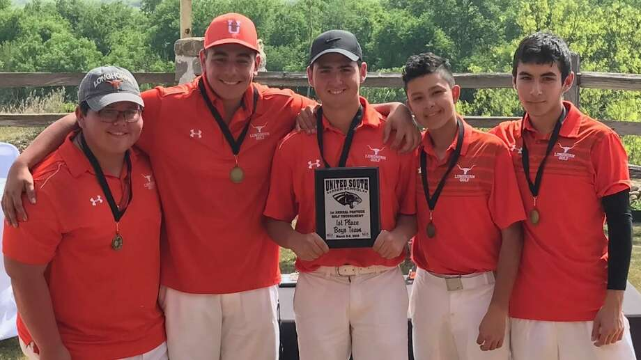 The United golf teams swept the titles at the United South golf tournament Saturday at the Max A. Mandel Municipal Golf Course. Photo: Courtesy Photo