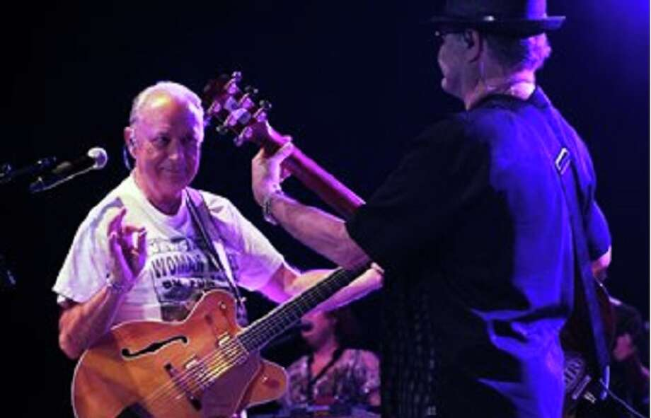 "Micky Dolenz and Michael Nesmith performed ""The Monkees Present: The Mike and Micky Show,"" Sunday at Palace Theatre. Keep clicking for more concerts coming soon. Photo: Associated Press"