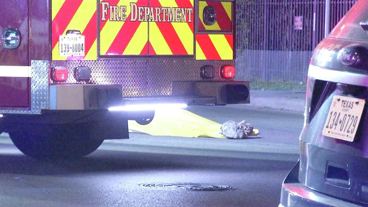 The driver struck the woman at about 1 a.m. near Culebra and San Joaquin Avenue, according to police.