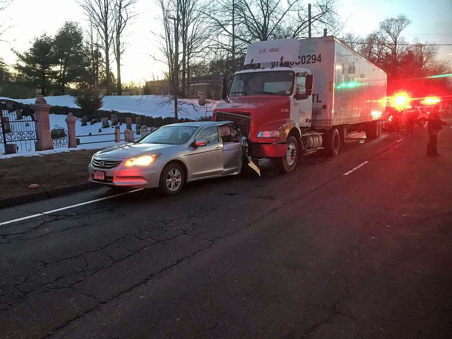 Accident closes lanes on Route 7 in Wilton - The Hour