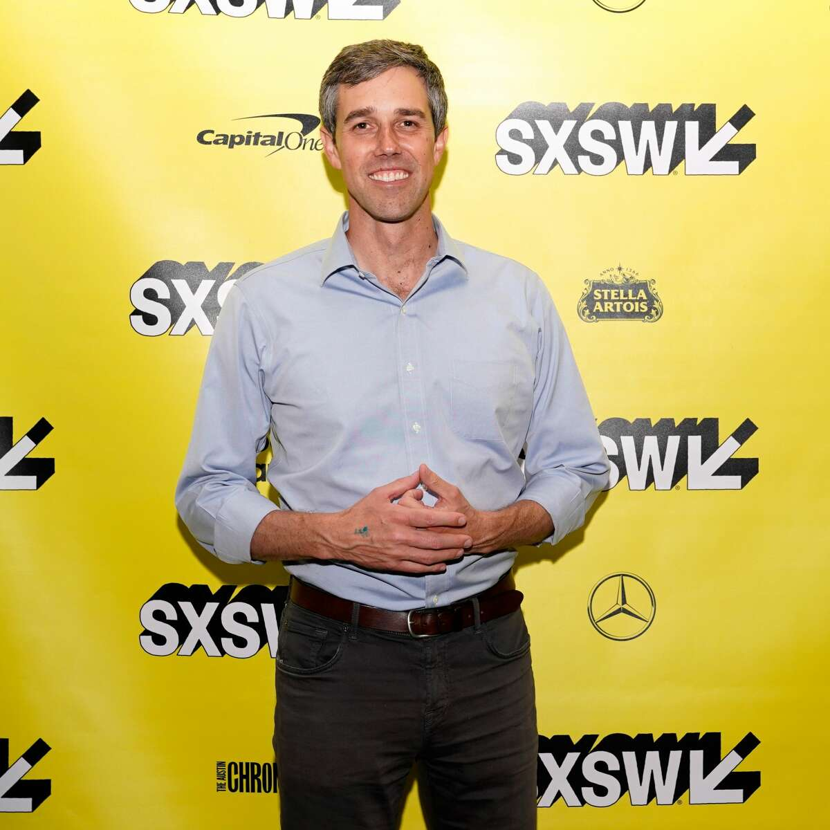 """AUSTIN, TX - MARCH 09: Beto O'Rourke attends """"The River and the Wall"""" Premiere during the 2019 SXSW Conference and Festivals at JW Marriott Austin on March 9, 2019 in Austin, Texas. (Photo by Ismael Quintanilla/Getty Images for SXSW)"""