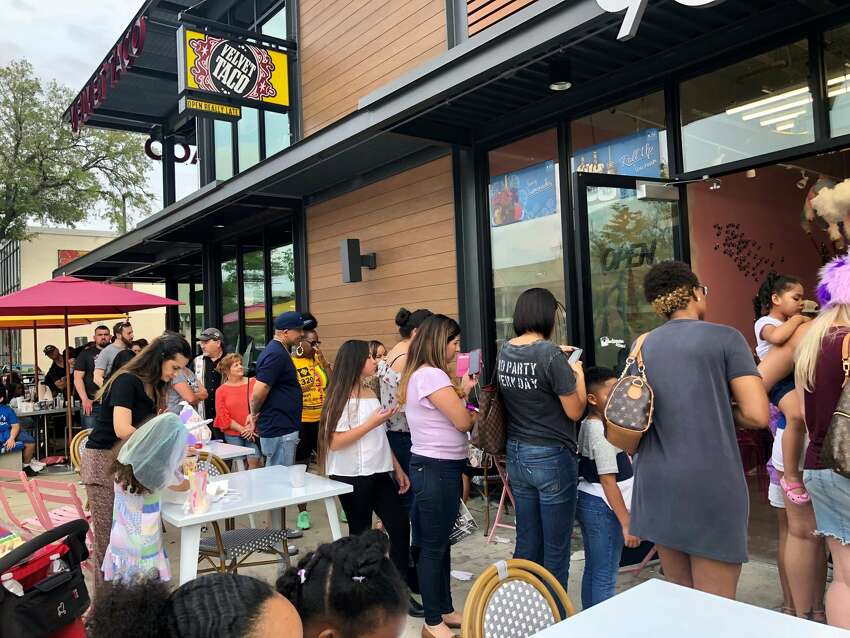 Houstonians turn out in force to the grand opening weekend of the Unicorn Magical Dessert Bar in Montrose.