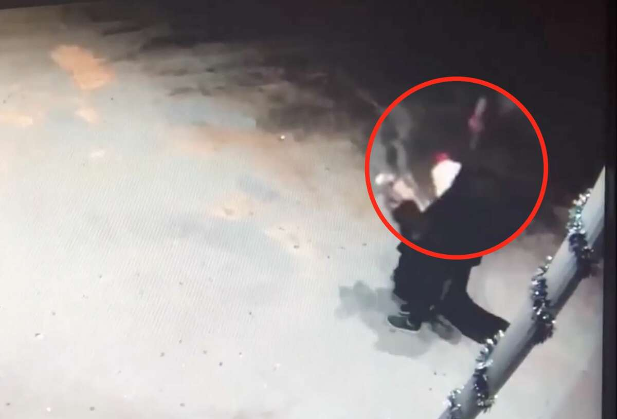 Chandel Kenawell was charged with arson after allegedly setting herself on fire with lighter fluid on March 5, 2019. In surveillance video from nearby Christ Kingdom Church International House of Prayer, the woman can be seen carrying a white bottle with a red cap, similar to a popular brand of lighter fluid, before the fire started.