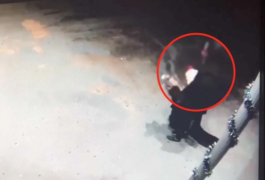 Chandel Kenawell was charged with arson after allegedly setting herself on fire with lighter fluid on March 5, 2019. In surveillance video from nearby Christ Kingdom Church International House of Prayer, the woman can be seen carrying a white bottle with a red cap, similar to a popular brand of lighter fluid, before the fire started. Photo: Christ Kingdom Church International House Of Prayer