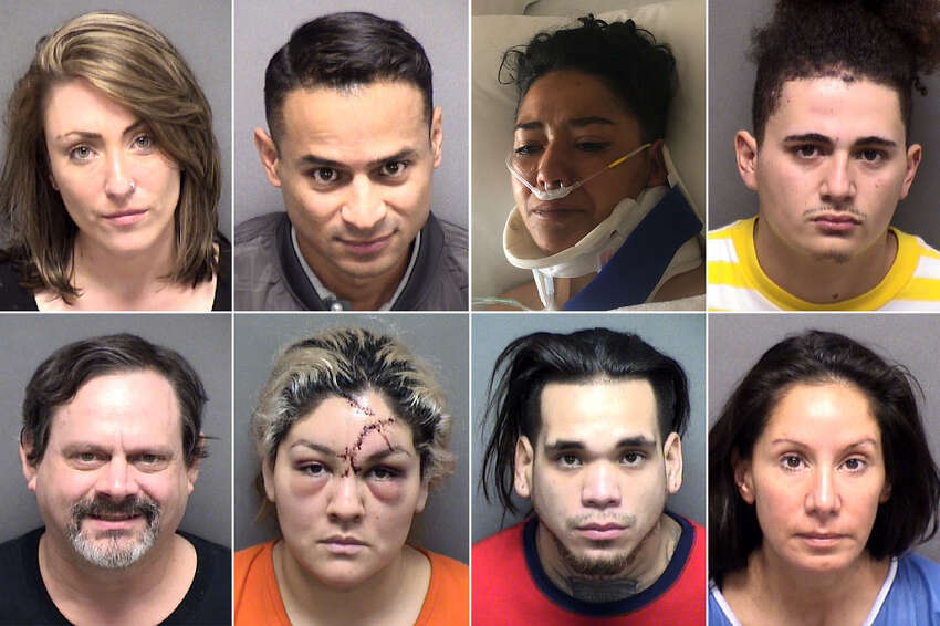 58 people were arrested in Bexar County on felony drunken driving charges in February.