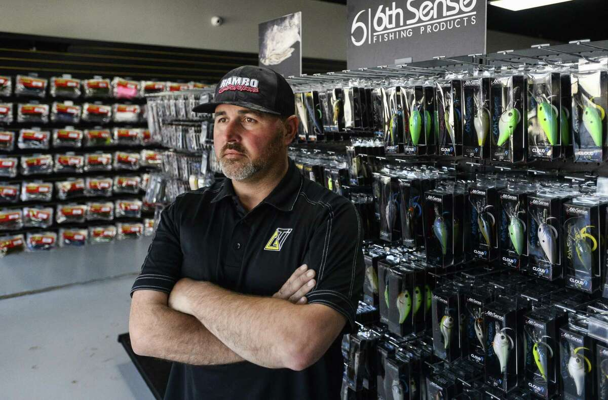 Co-owner of Rambo Outdoors Cory Rambo poses for a photo in his and Mark Martin's shop Wednesday afternoon. Rambo Outdoors is one of the tenants at The Silos located at 10400 Eastex Freeway. Photo taken on Wednesday, 03/06/19. Ryan Welch/The Enterprise