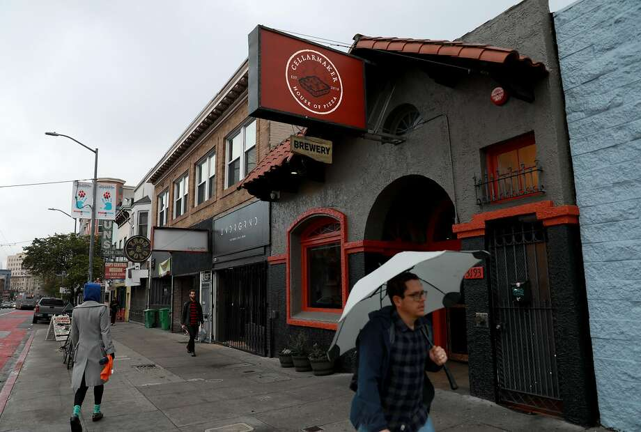 Cellarmaker House of Pizza is located at 3193 Mission St., in San Francisco, Calif., on Wednesday, March 6, 2019. Photo: Yalonda M. James / The Chronicle 2019