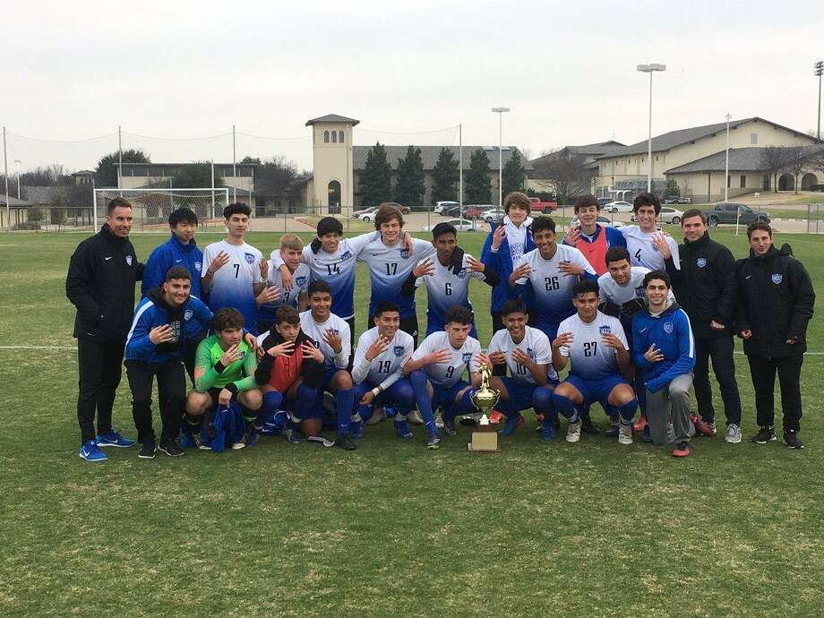 The Episcopal High School boys soccer team won its fourth consecutive Southwest Preparatory Conference championship, defeating John Cooper 2-1 in overtime in the final. The Knights finished 16-0-0 and held a national No. 1 ranking. Photo: Episcopal High School / Episcopal High School