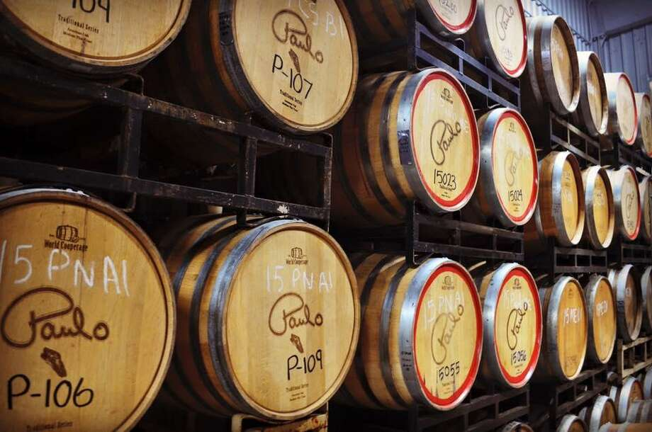 The Bonarrigo family, owners and operators of Messina Hof Wine Cellas Inc., have picked Harvest Green in Fort Bend County for their fourth location. Above, are wine barrels in Bryan. They also have locations in Grapevine and Fredericksburg. The Harvest Green location will include a winery, tasting room and restaurant, experimental vineyards and increased production support. Photo: Cultivate PR / Cultivate PR