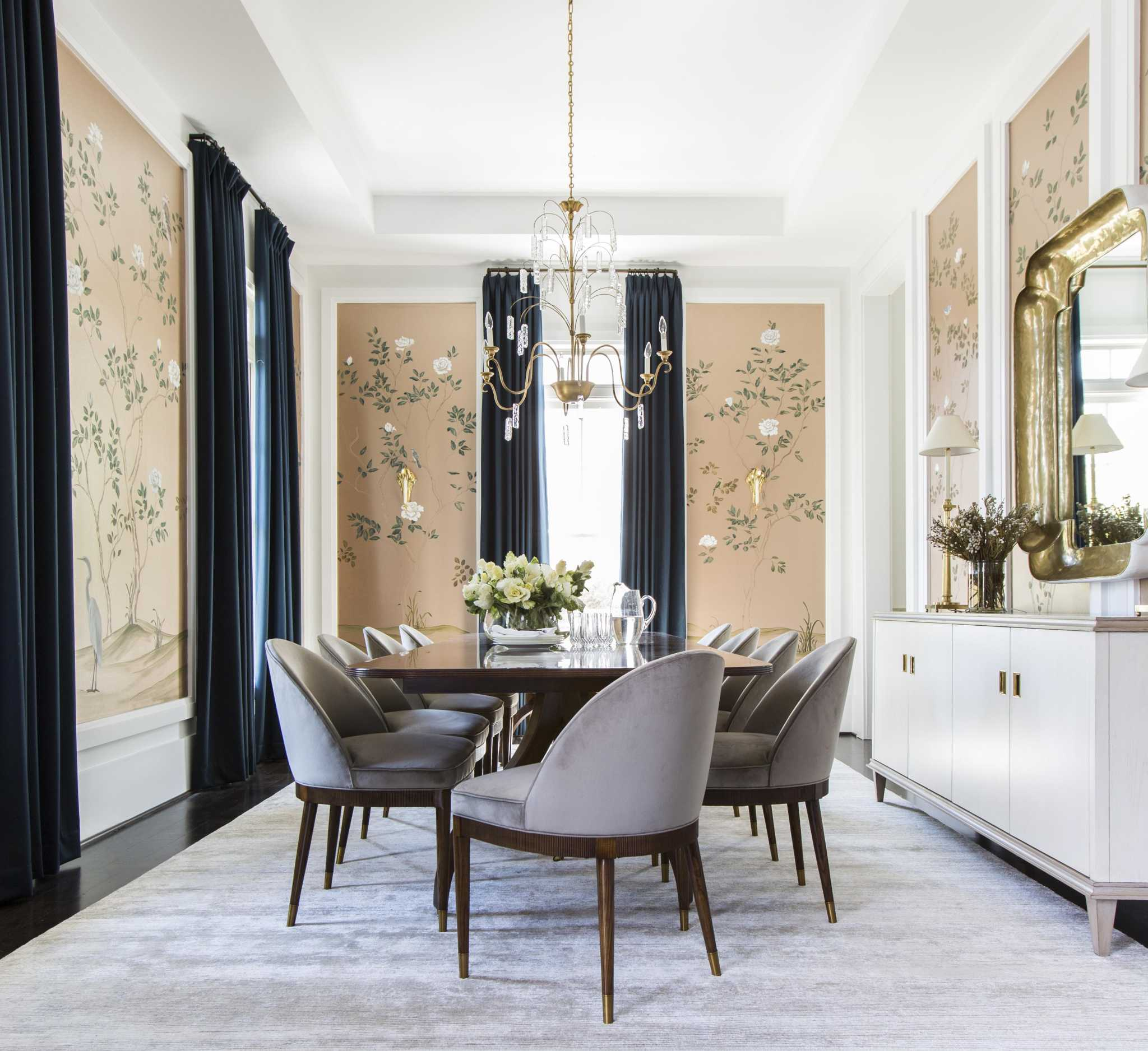 50 Dining Room Decorating Ideas And Pictures: How A Heights Home's Dining Room Went From Blank Slate To