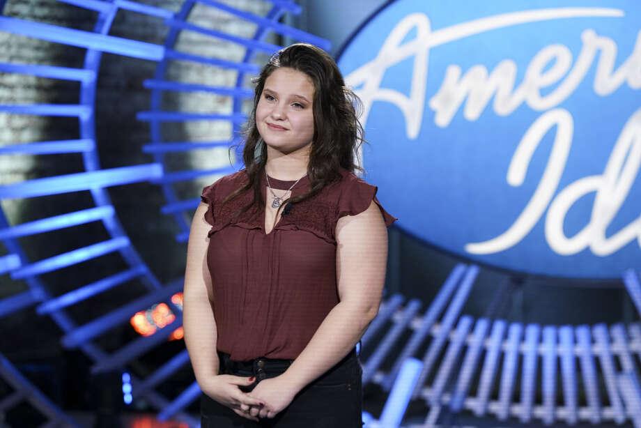 "Madison VanDenburg, a Shaker High School student, appears on ""American Idol"" in March 2019. (ABC/Nicole Rivelli) Photo: ABC/Nicole Rivelli"