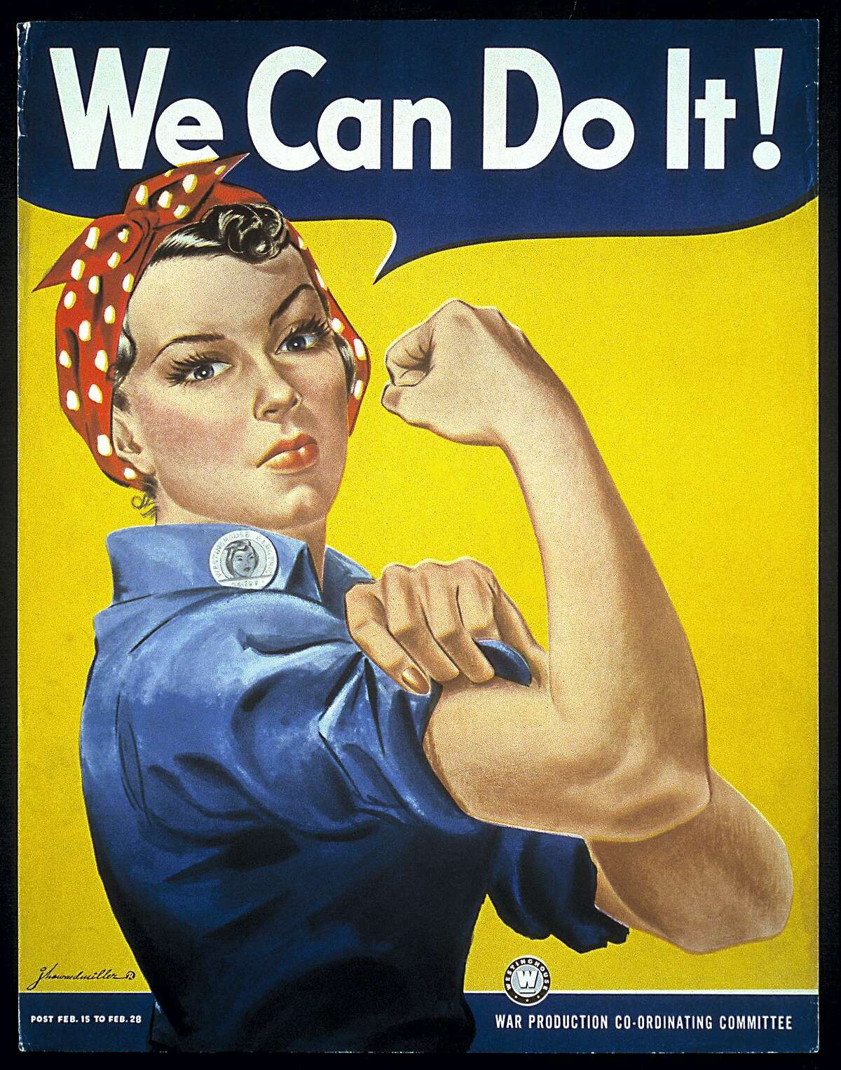 A free, illustrated lecture on the real story of Rosie the Riveter will be presented by Historian and Director of Education at the New England Air Museum in Windsor Locks, Amanda Goodheart Parks, Ph.D., at 7 p.m. March 19 at the Essex Library, 33 West Ave. Parks will focus on Rosie's journey from propaganda poster to feminist icon. RSVP: 860 767-1560.