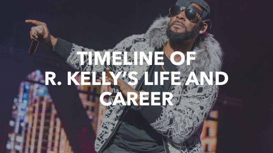 R&B singer R. Kelly, long trailed by lurid rumors, has been charged with aggravated sexual abuse involving multiple victims dating back two decades. These photos follow his life and career. Photo: Scott Legato/Getty Images