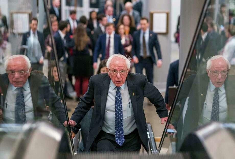 Sen. Bernie Sanders is running for president in 2020. Photo: Washington Post Photo By Melina Mara / The Washington Post