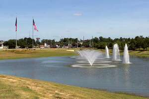 The Montgomery County Veterans Memorial Commission is continuing progress on a new memorial in Conroe hoping the Conroe City Council approves a multiuse agreement with the Texas Department of Transportation to allow the commission to place a sign and 13 flags at Interstate 45 and Texas 105.