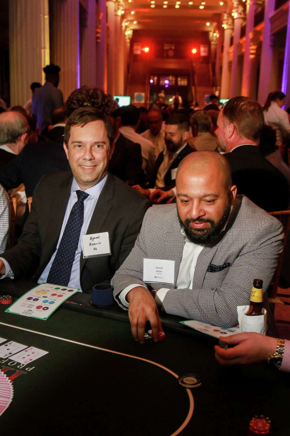 """Oil & Gas Texas Hold 'Em Tournament- Later that week,550 gambling-loving guests put the """"Texas"""" in the 14th annualOil & Gas Texas Hold 'Em Tournament for YES Prep Public Schools"""