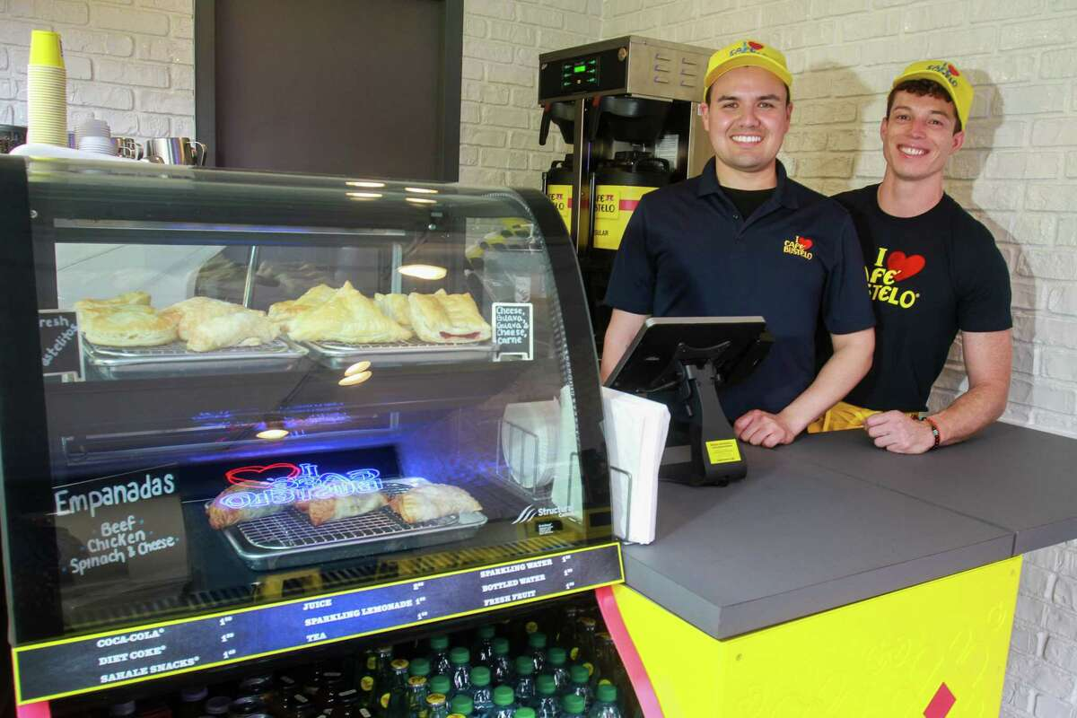 Baristas at the new Cafe Bustelo pop-up in Houston.