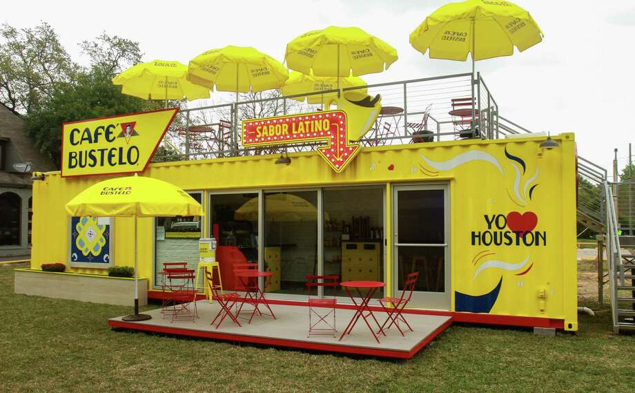 Cafe Bustelo, a limited-edition pop-up coffee shop will operate at 3615 Montrose from March 12 to May 25. Housed in a bright yellow shipping container, the temporary java joint is Café Bustelo's first pop-up effort. Photo: Gary Fountain, Contributor / © 2019 Gary Fountain