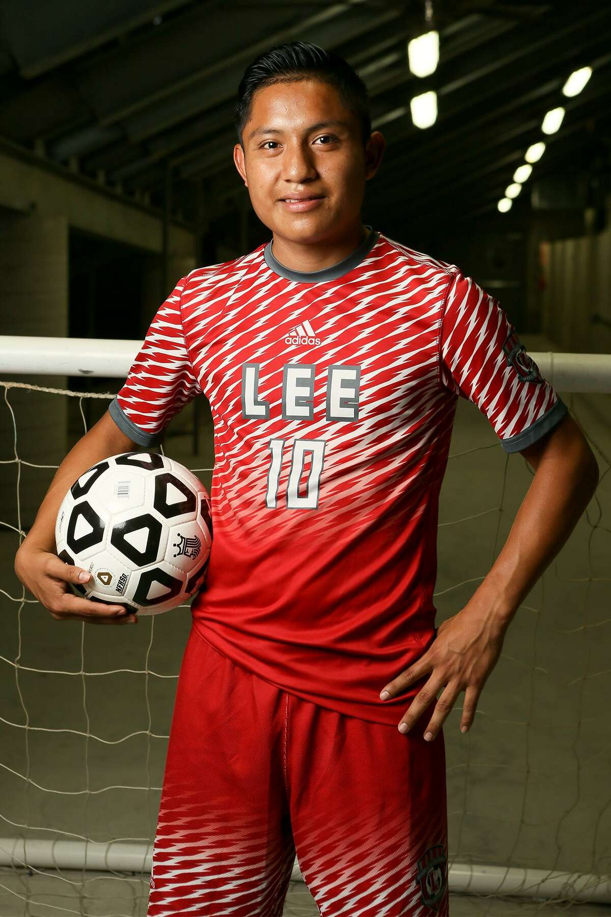 Wilmar Aguilar, LEE soccer, Sr. The forward earned local, state and national accolades after recording 25 goals and 24 assists for LEE last season. The Express-News Co-Player of the Year for 2019 also made the Allstate All-America team and the Texas Association of Soccer Coaches 6A all-state team.