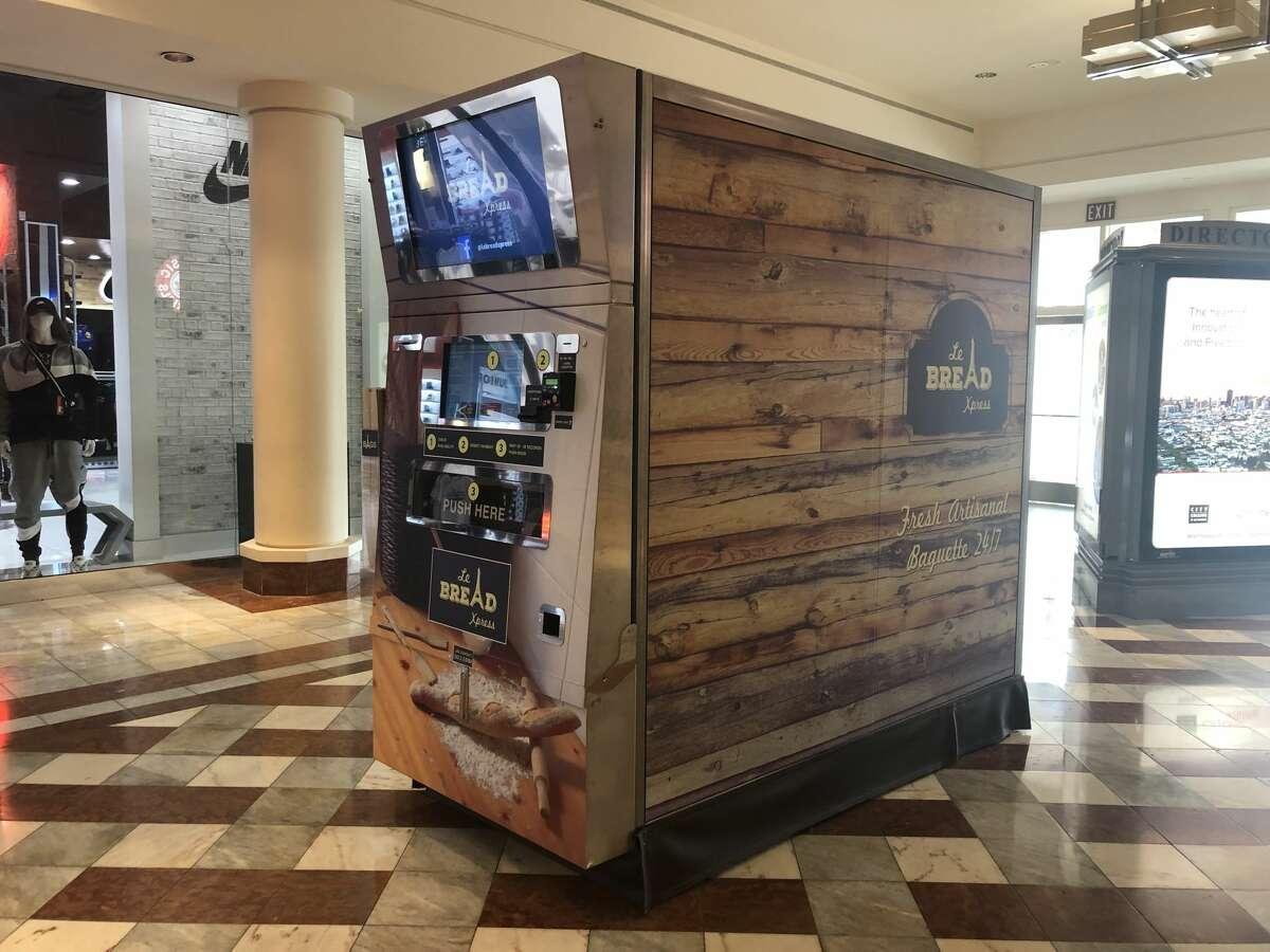 The Le Bread Xpress machine in Stonestown Galleria.