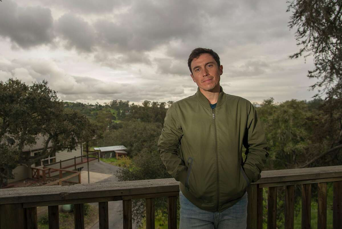 Photographer Chris Burkard at his home in Arroyo Grande, Calif.