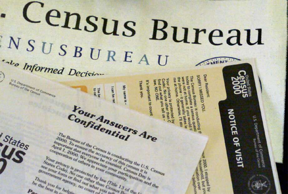 The paperwork used by census takers in 2000. The addition of a citizenship question will imperil an accurate count. Photo: Boris Yaro /TNS / Los Angeles Times