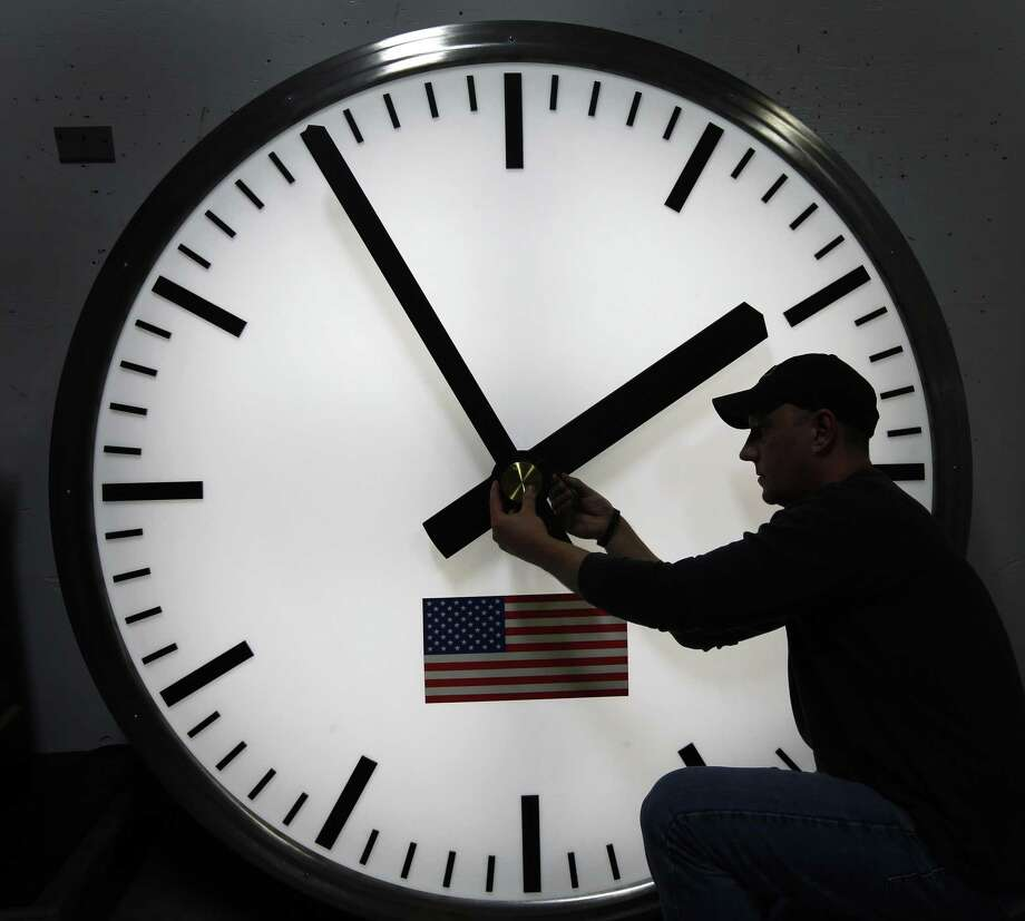 A reader loathes the arrival of daylight saving time. Photo: Associated Press File Photo / AP