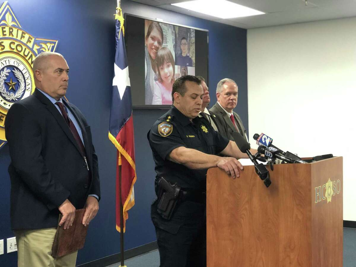 Harris County Sheriff Deputy Chief Edison Toquica said at a press conference on March 11 that catching the two suspects who killed Donna Pena at the gas station she worked at on March 8 is law enforcement's top priority.