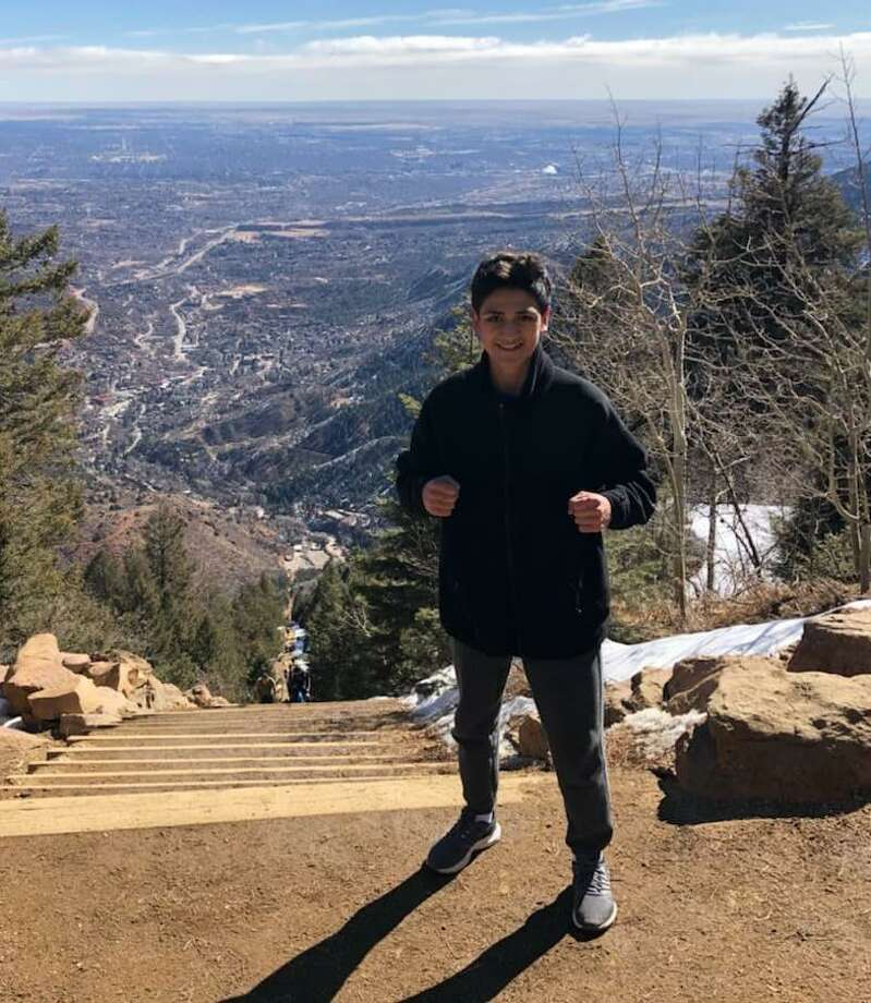 Emilio Garcia is participating in a 10-day training camp at thethe United States Olympic Training Center in Colorado Springs, Colorado from March 4-13. The camp is preparing 11 national champions for a USA vs. Japan duel this summer in Tokyo. Photo: Courtesy Photo