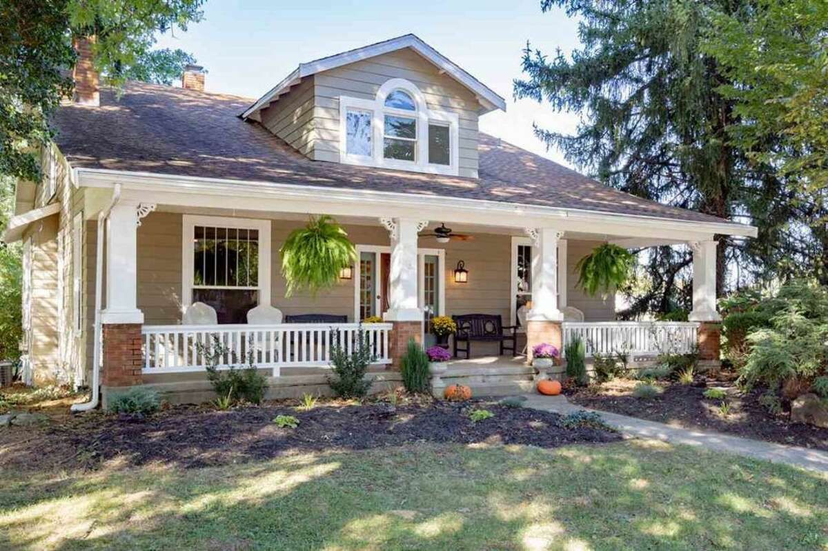 5953 N. Jefferson St, Burlington, Ky.Burlington beauty:According to the listing, this catalog home is the Vallonig model. The updated five-bedroom home is zoned for residential and commercial use, which makes it a great opportunity for a bed-and-breakfast or live-work space.